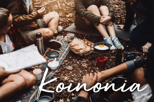 Koinonia – Encouragement